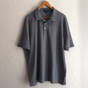 Lands End gray Polo shirt size XL